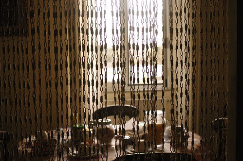 the breakfast room at the B and B