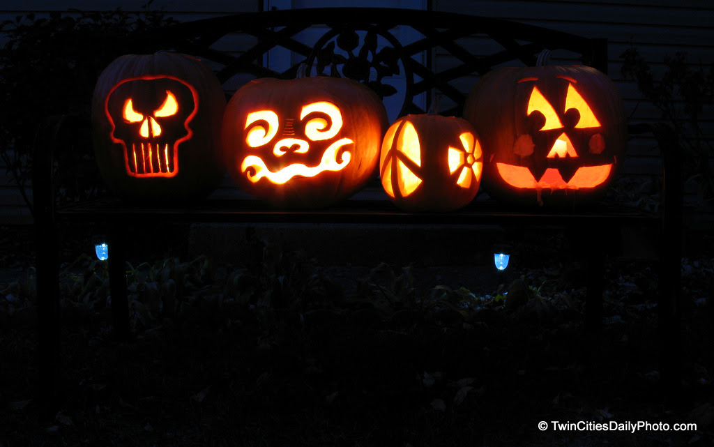 Our attempts at pumpkin carvings from 2011. Happy Halloween, be safe and enjoy.