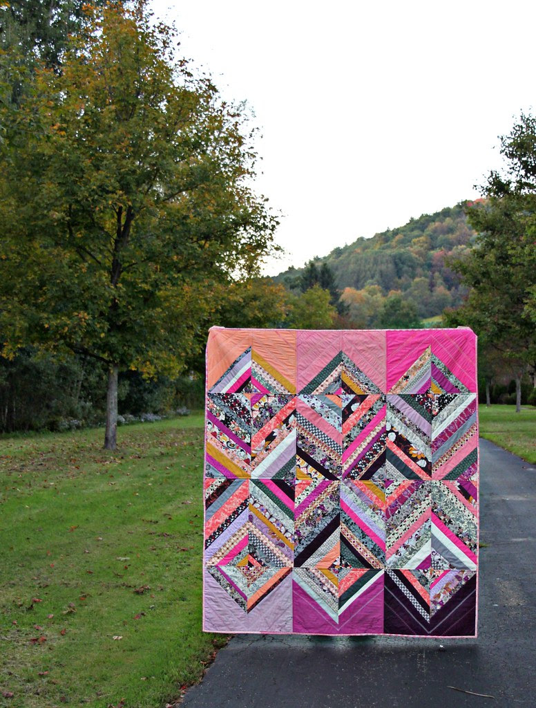 Rock 'n Romance String Diamond Quilt