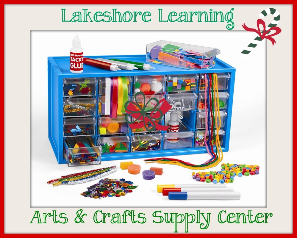 Holiday Gift Guide Arts Crafts Supply Center From Lakeshore Learning Holidaygiftguide