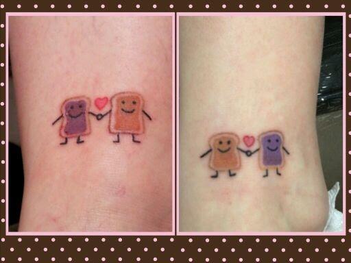 Peanut Butter Cup Tattoos