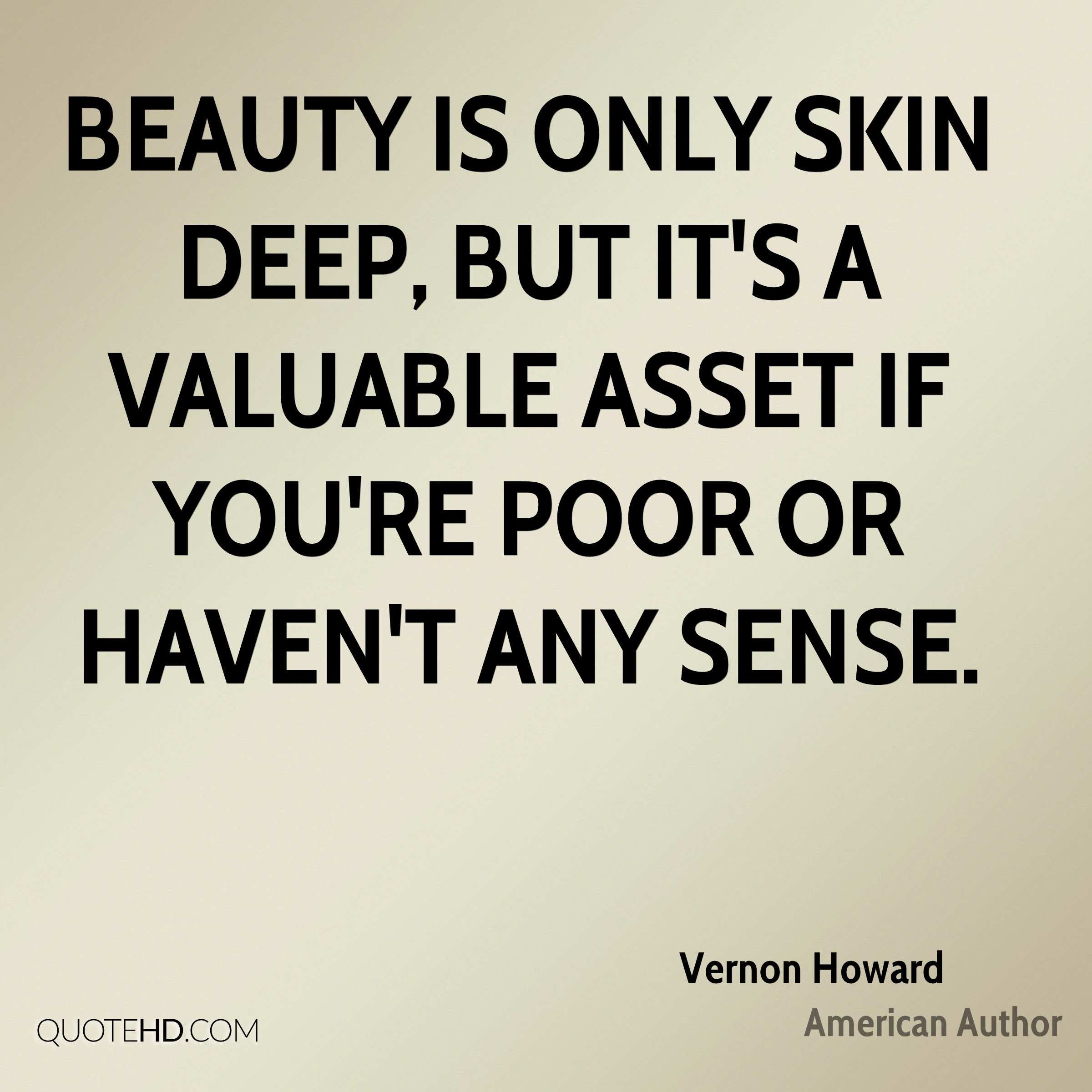 Vernon Howard Beauty Quotes Quotehd