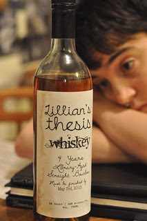 Day 29: Thesis Whiskey