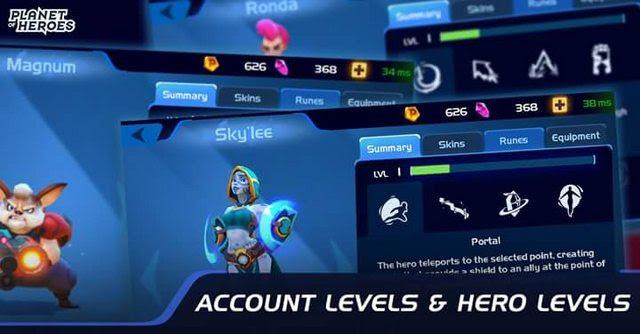 hướng dẫn chơi game, làm nhiệm vụ trong Planet of Heroes