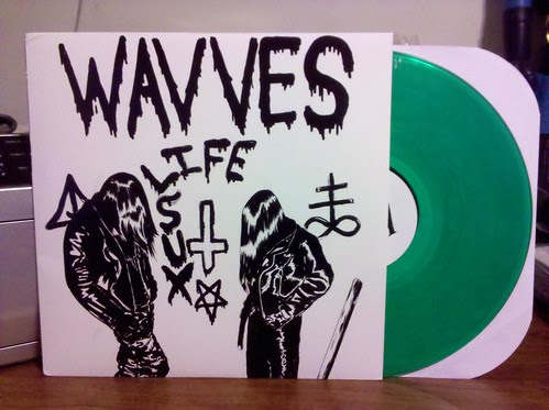 "Wavves - Life Sux 12"" - Green Vinyl /420 (that's a pretty dumb joke Wavves)"