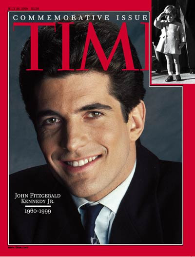Time Magazine Cover John F Kennedy Jr July 26 1999 Kennedys
