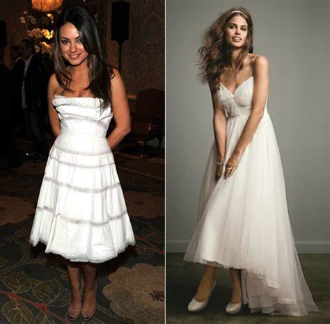 Mila Kunis: wedding dresses the star could wear   Photo 5