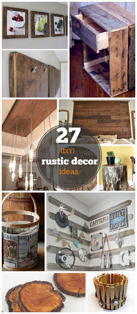 diy rustic decor ideas   home diy rustic home