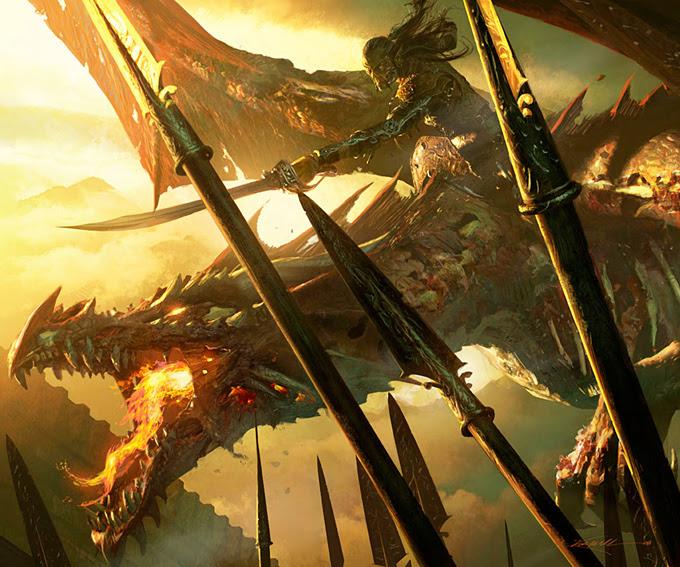 Michael Komarck Dragon