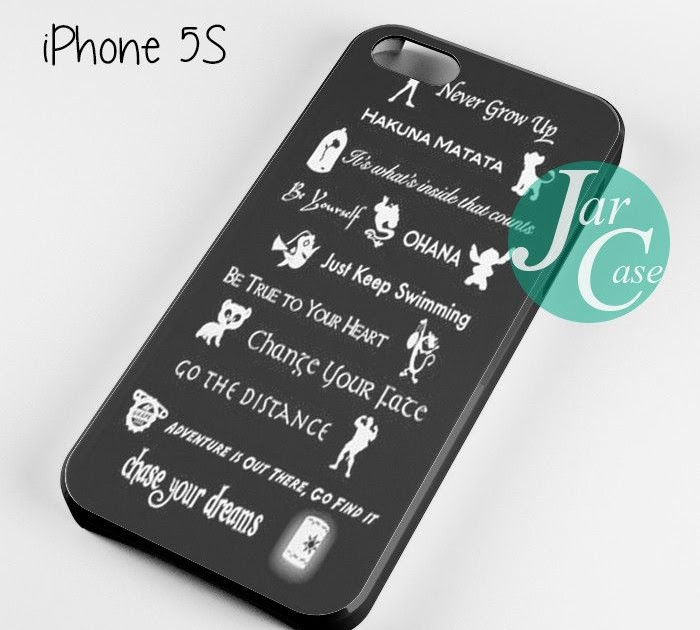 All Disney Quotes Phone Case For Iphone 44s55c5s66 3