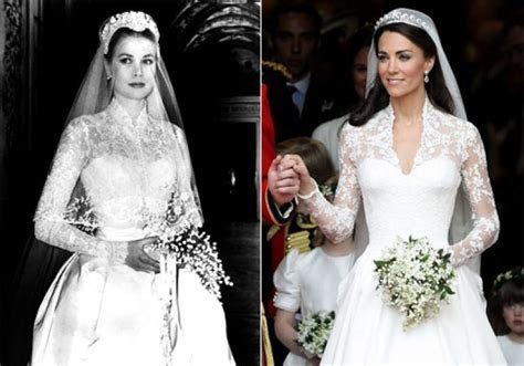 Kate Middleton's wedding dress similar to gown worn by