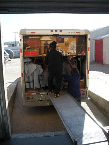 Unloading on Christmas Eve