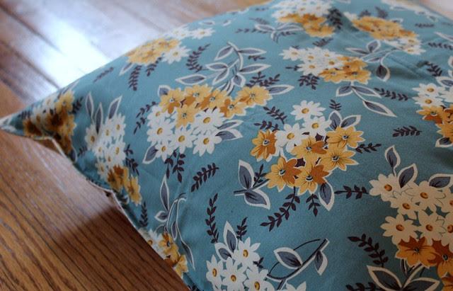 Rainbow Improv Floor Pillow- Back