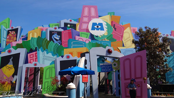 Disneyland Resort, Disney California Adventure, Monster's Inc, Mike and Sully to the Rescue