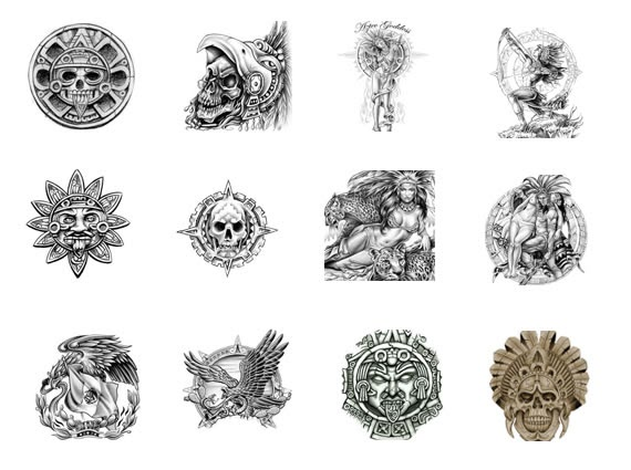 Robert Avery Blog Aztec Tattoos And Their Meanings
