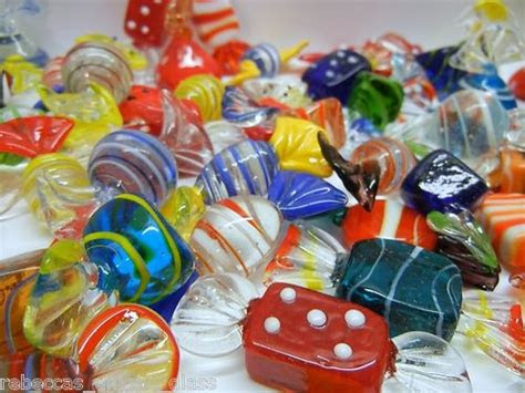 lot   murano art glass candies valentines day favor