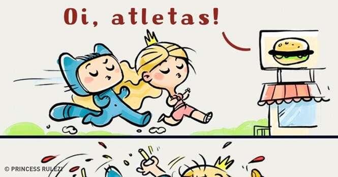 Quadrinhos sobre a bela arte de não ser uma princesa