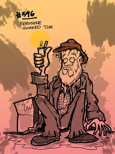 #596: Kerosene Soaked Tom