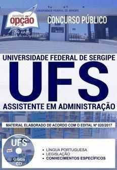 Apostila Concurso UFS 2018 | ASSISTENTE EM ADMINISTRAÇÃO