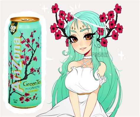 arizona green tea  rasbiideviantartcom  atdeviantart