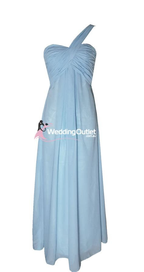 Baby Blue Bridesmaid Dresses Style #F101