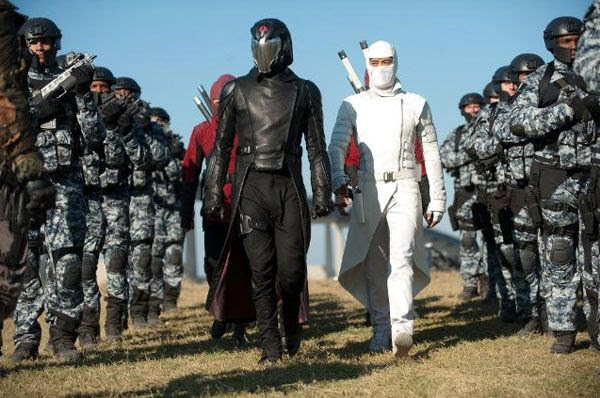 Cobra Commander (Luke Bracey), Storm Shadow (Byung-hun Lee) and the rest of the Cobra organization are bent on destroying the G.I. Joes in G.I. JOE: RETALIATION.
