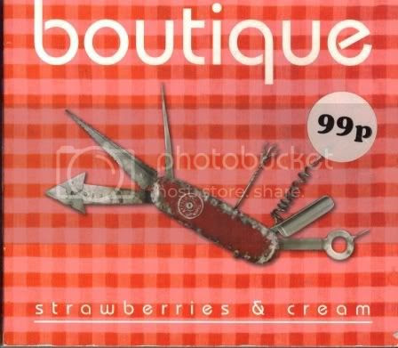 Boutique - Strawberries and Cream