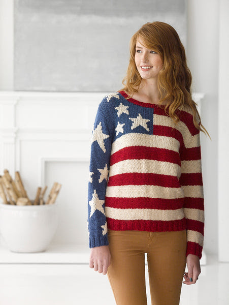 Flag Pullover (Knit) Free patteren