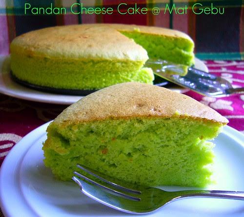 Pandan Cheese Cake