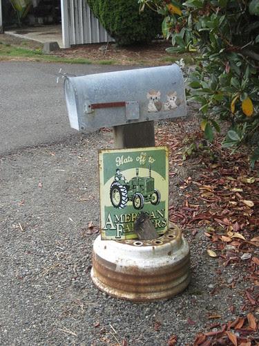 Mailbox on Keys Rd