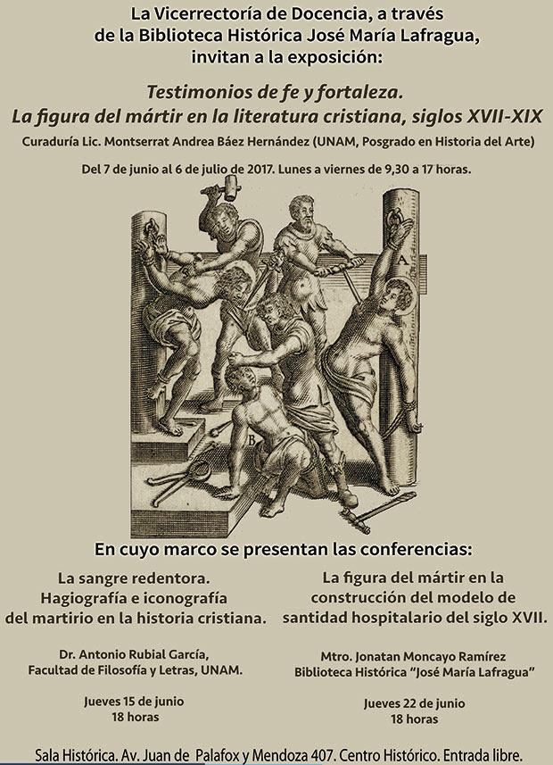 Exposición Testimonios De Fe Y Fortaleza La Figura Del Mártir En