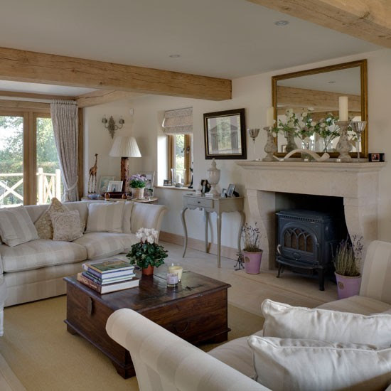 Drawing room | Rustic new-build house | Country Homes & Interiors house tour | PHOTO GALLERY | housetohome