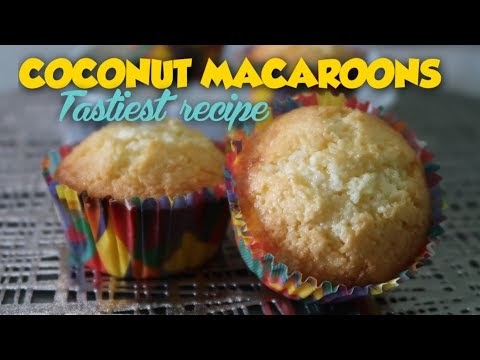 QUICK, EASY AND PERFECT COCONUT MACAROONS RECIPE