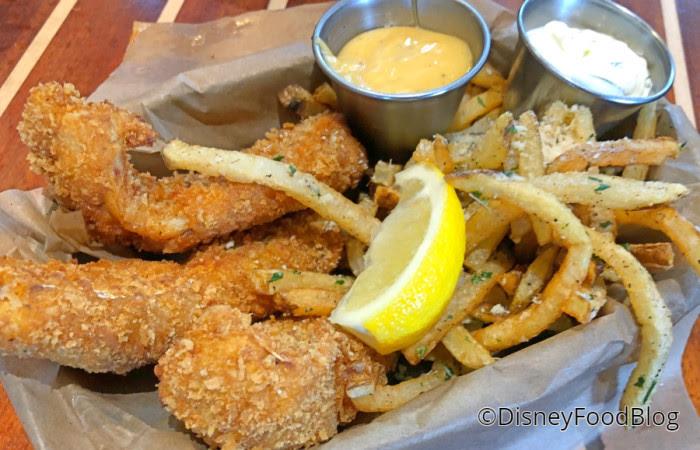 Crispy Panko-Fried Fish of the Day