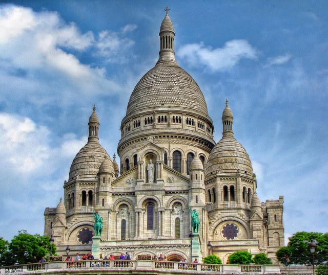 Sacré-Coeur Basilica in Montmartre