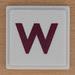 UPWORDS Letter W
