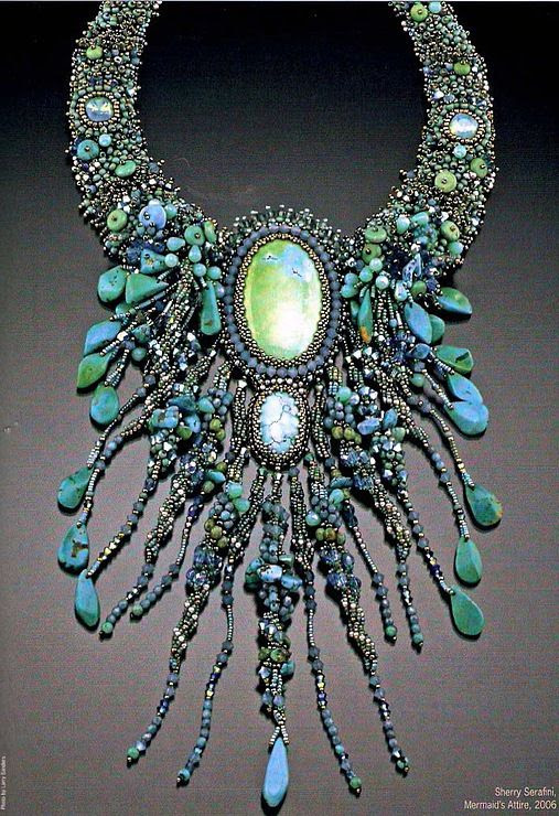 Handmade Bead Embroidery Jewelry Inspiration Sherry Serafini