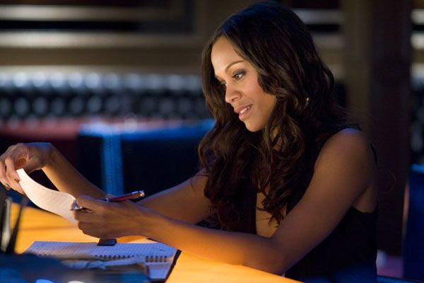 Zoe Saldana makes an appearance in TAKERS.
