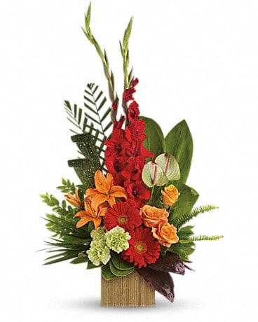 Heart S Companion Bouquet By Teleflora In Honolulu Hi Honolulu Florist