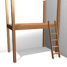 3D Plans – Loft Bed   Ask the Builder