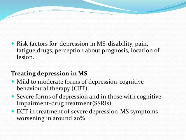 Neurologist approach to depression