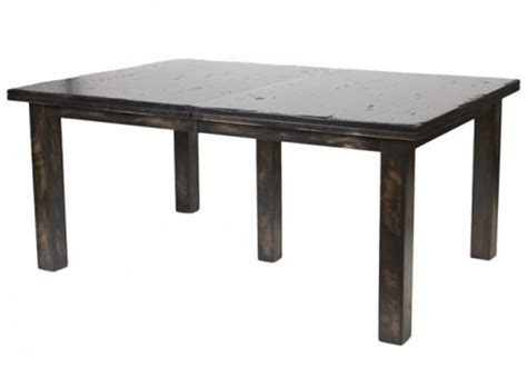bonham concrete dining table solid wood base reside