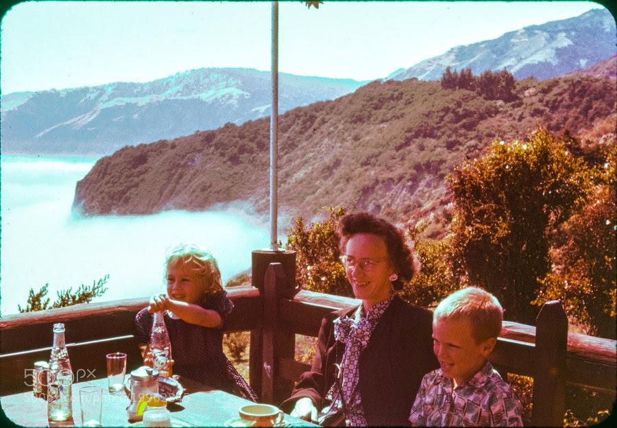 Lunch on the mountain (restored) by Brandon Buck (brandonthebuck)) on 500px.com