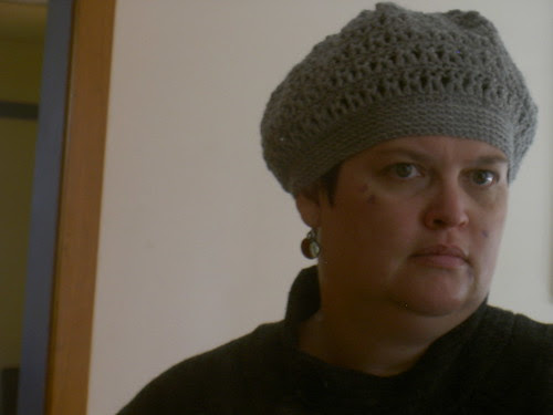Slouchy hat #2 is finished