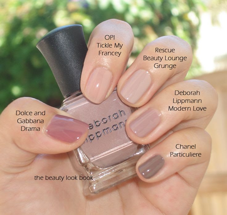 The Best Nude Nail Colors