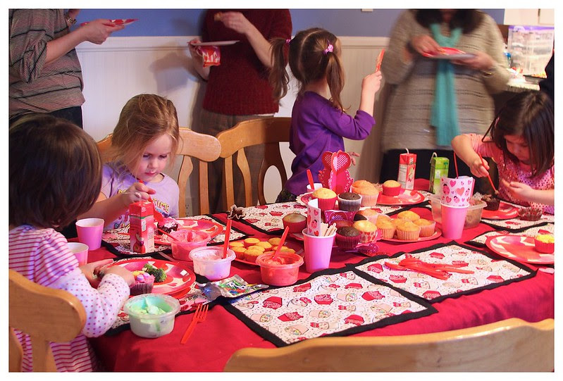 Valentine's Day Cupcake Party 2013 29
