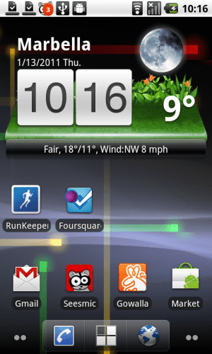 goweather 1 300x500 Go Weather, información metoreológica, widgets y animaciones espectaculares