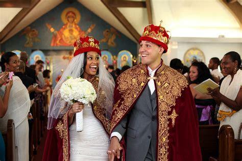Traditional Ethiopian Orthodox Wedding Ceremony: Elleni