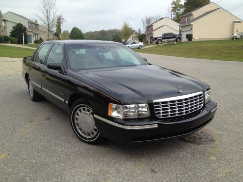 Sell used 99 CADILLAC DEVILLE ONE OWNER / LOW MILES ...