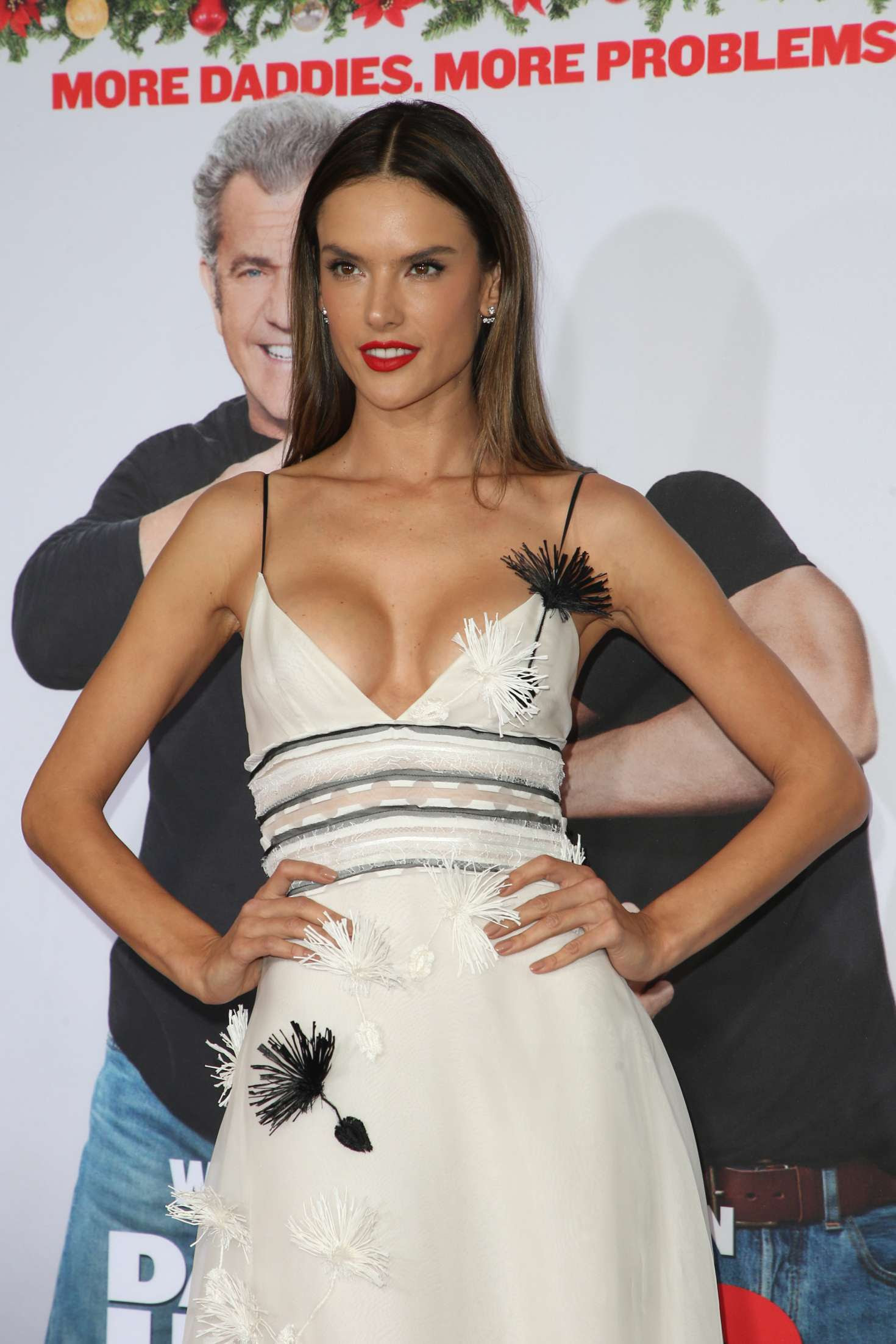 Alessandra Ambrosio – 'Daddy's Home 2' Premiere in Los Angeles